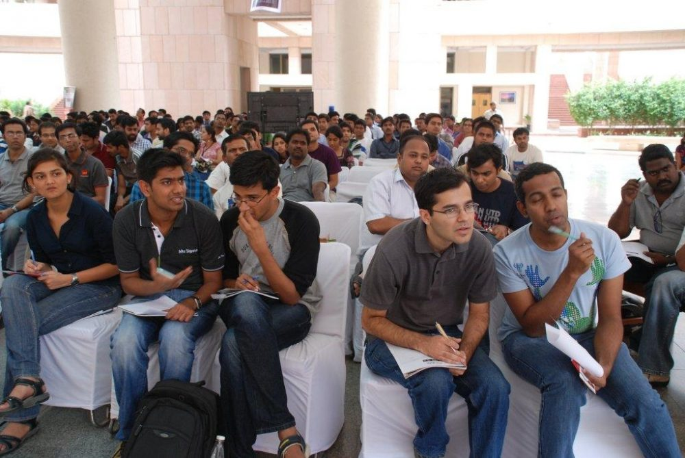 Participants at ISB