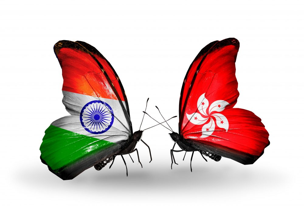 Indian Flag Butterflies: 2016 Will See Indian And Hong Kong Increase Bilateral Trade