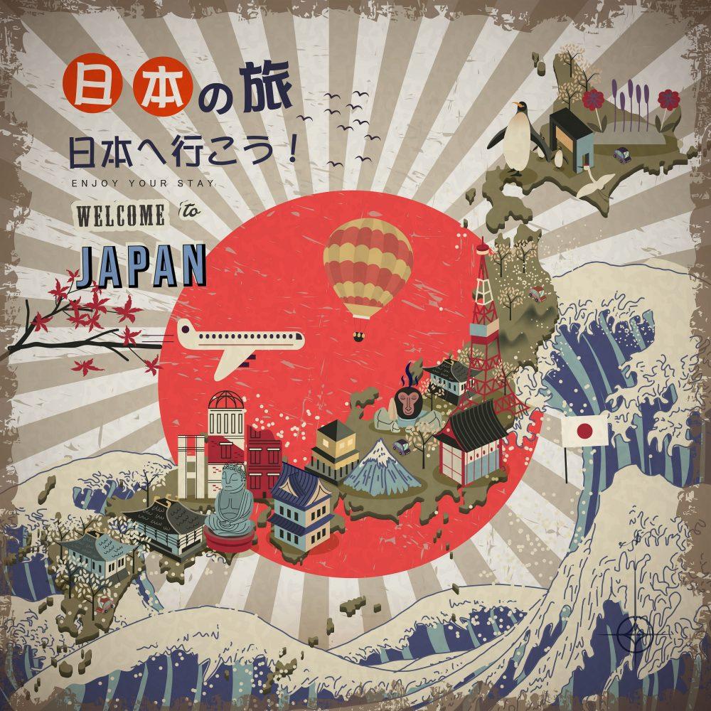 Avail Visaonarrival Facility To Japan With YAxis - Japan visa map