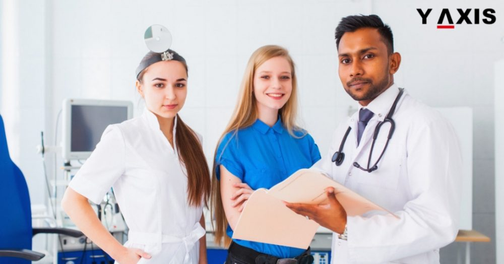 Indian students going abroad to study medicine
