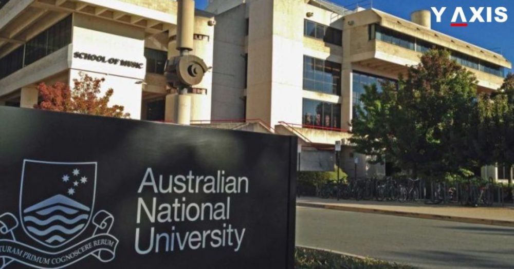 Australian National University in Canberra