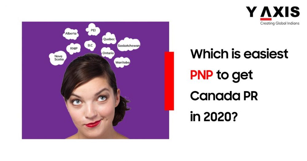 Which is easiest PNP to get Canada PR